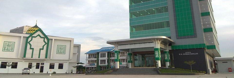 Universitas Muhammadiyah Riau's official Twitter account