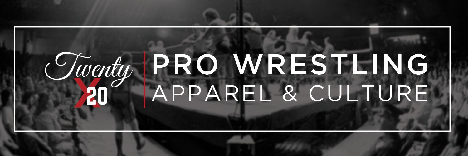 20x20 Apparel is home for original Pro Wrestling shirts, pins and prints honoring classic arenas, moments and events. Home to the @20x20pod and @sheikblood