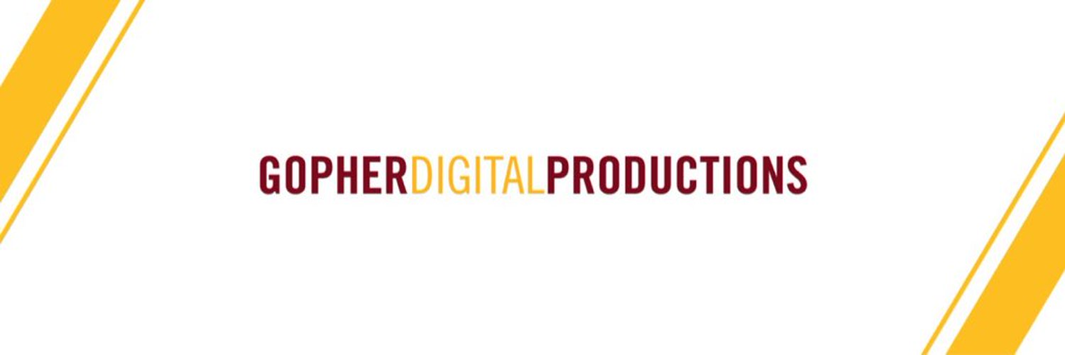 GDP is the official video production unit of @GopherSports. Providing unique and innovative content online, in-venue and on your television.
