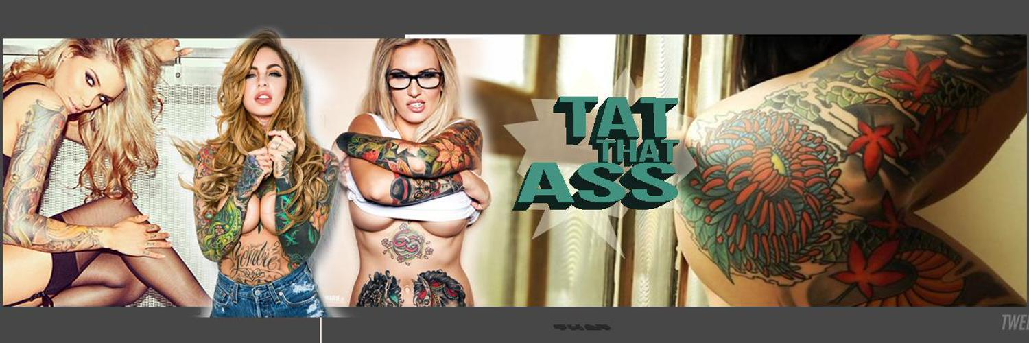 Tattooed babes galore. Inked and Sexy. Fresh ink everyday. Click the link to TAT some ASS.
