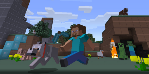 Minecraft Xbox 360 Plastic Pack Teaser (PHOTO: 4J Studios)