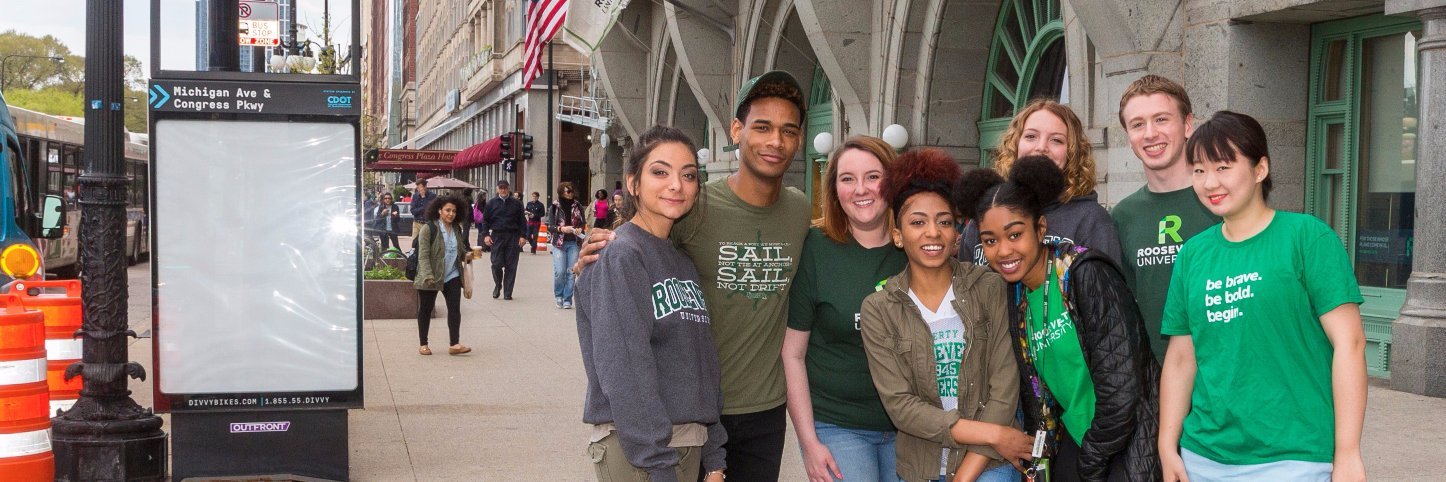 Roosevelt University's official Twitter account