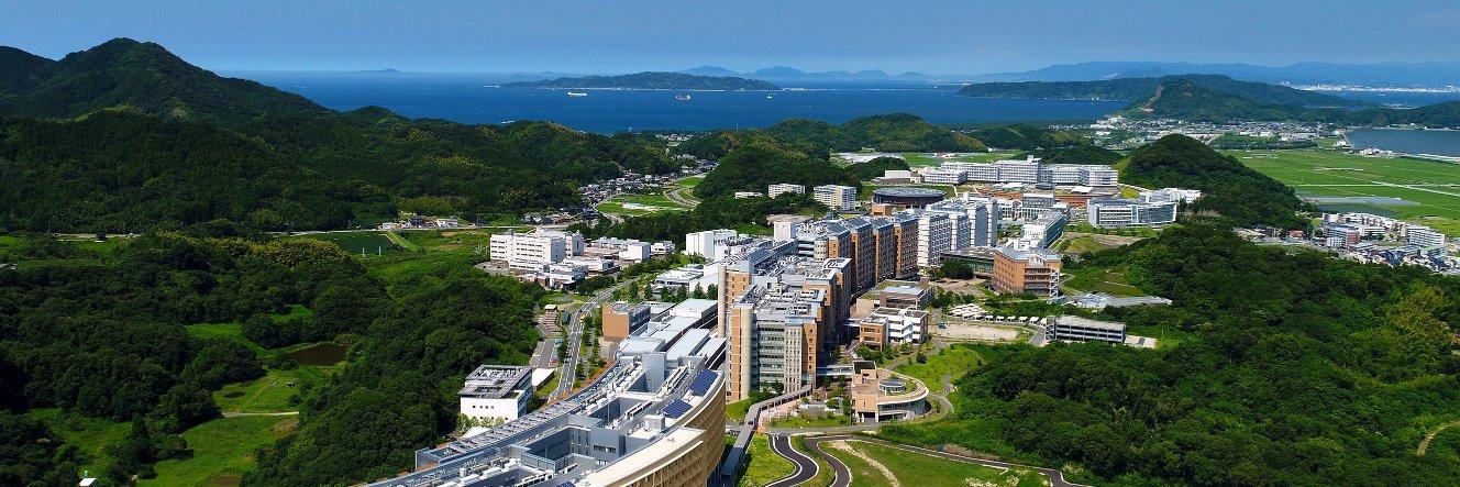 Kyushu University's official Twitter account