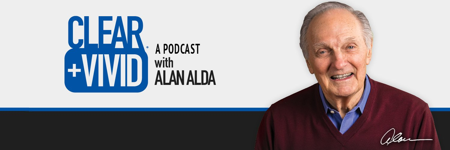 Actor, Writer Host of the podcast 'Clear+Vivid with Alan Alda'. Listen here: omny.fm/shows/clear-vi…