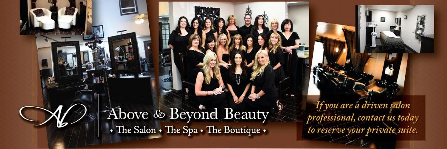 Above beyond salon abbsalon twitter for Above and beyond salon temecula ca