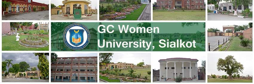Government College for Women University, Sialkot's official Twitter account