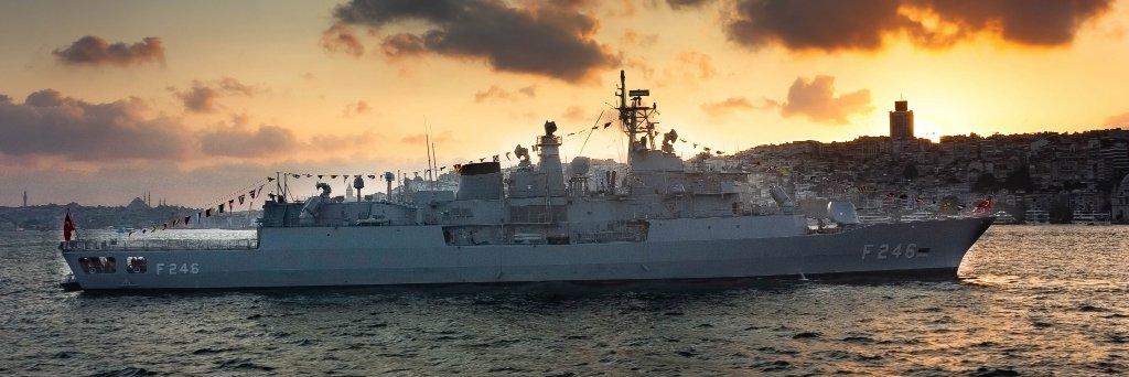 #TurkishNavy's #DoğanClass fast attack craft #TCGDoğan #P340 and logistic support ship #TCGYarbayKudretGüngör #A595… https://t.co/0CGUcEChZX