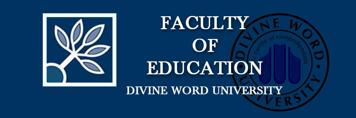 Divine Word University's official Twitter account