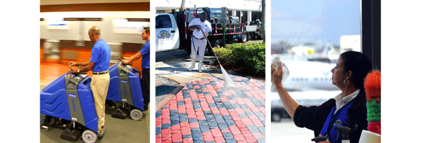 We provide janitorial cleaning, window cleaning, pressure cleaning, escalator cleaning, roadway sweeping, carpet cleaning, marble/terrazzo floor polishing.