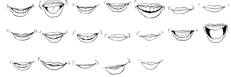 удивляет, улыбочки картинки чтобы рисовать говорит, что