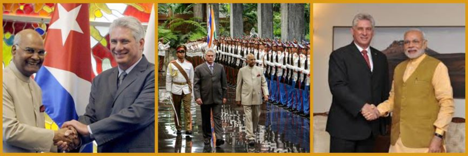 Official account of the Embassy of India in Cuba|Embajada de la India🇮🇳🇨🇺Also accredited to Dominican Republic🇩🇴 & Haiti🇭🇹 Emergency contact:+5352131818