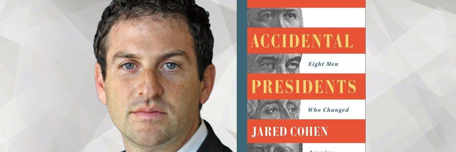 Founder & CEO of Jigsaw, Google, Senior Fellow at CFR, NYTimes Bestselling author of 4 books. Accidental Presidents out now! Tweets are my own opinions.