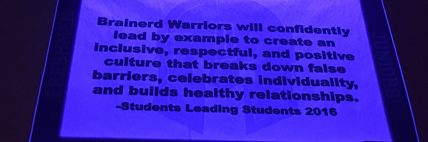A Day in the Life of a Brainerd Warrior Student.