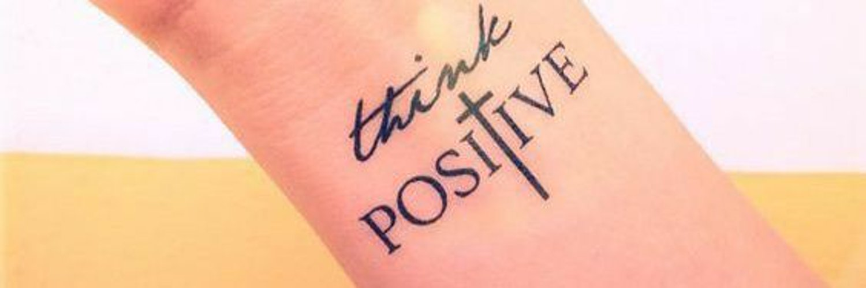 think positive tattoo - 1136×589