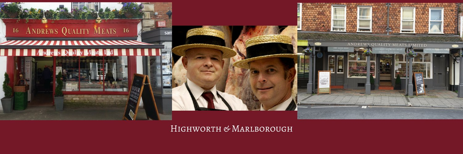 Butchers in #Highworth & #Marlborough high streets, and in #Tockenham. Supplying highest quality meat which is locally produced and boned and cut in-house.