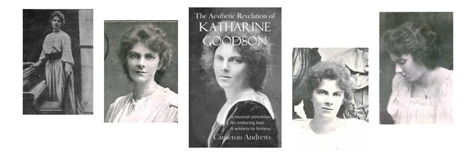 Biographer of the era-defining Katharine Goodson. Some other stuff too.
