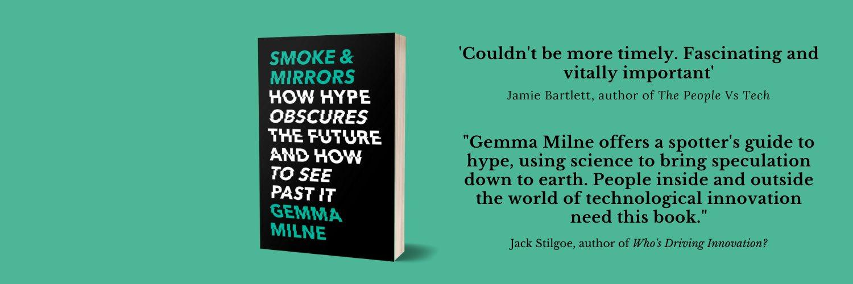 Tech & Science Writer • 'Smoke & Mirrors' (2020) @littlebrown • Co-host @sciencedisrupt • brainreel.substack.com • Rep'd @laurabirdland 🏴