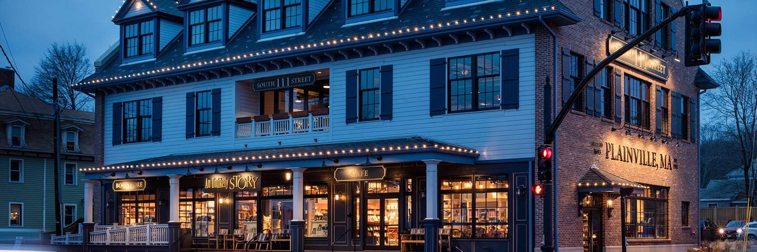 An Unlikely Story is an independent bookstore & cafe located in downtown Plainville, MA.