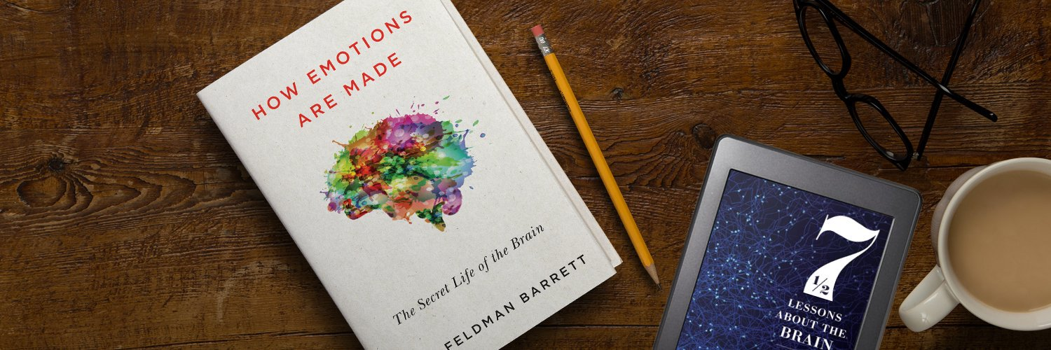 Neuroscientist, psychologist, and author of 'How Emotions are Made: The Secret Life of the Brain' and the forthcoming '7½ Lessons About the Brain'