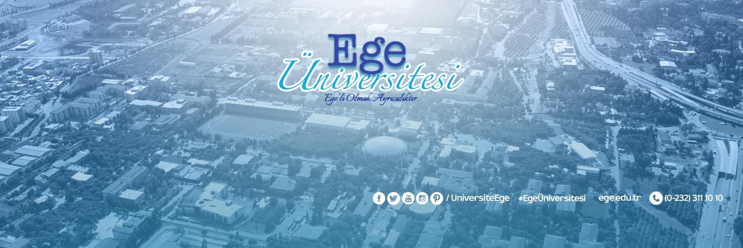 Ege Üniversitesi's official Twitter account