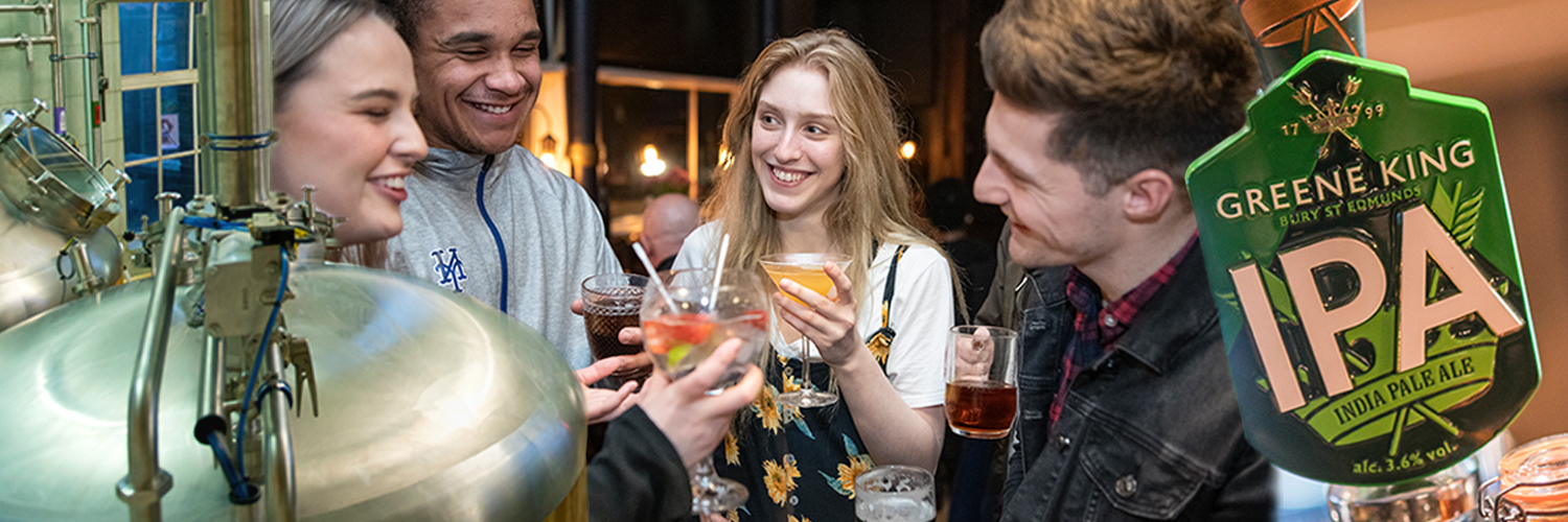 Greene King is the UK's largest pub retailer and brewer; 2,700 pubs, restaurants and hotels including brands Hungry Horse, Chef & Brewer and Farmhouse Inns.