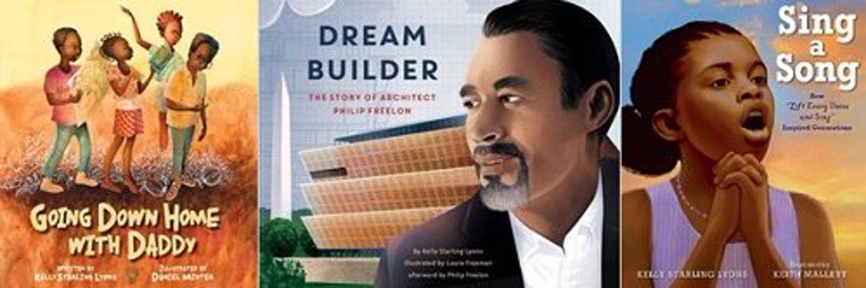 Children's book author - a Founding member of The Brown Bookshelf - Advocate for kidlit diversity