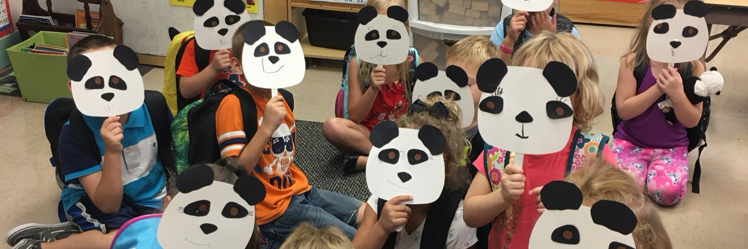 We are the Panda Class. We work together. We play together. We learn together. I'll see you tomorrow for another great day.