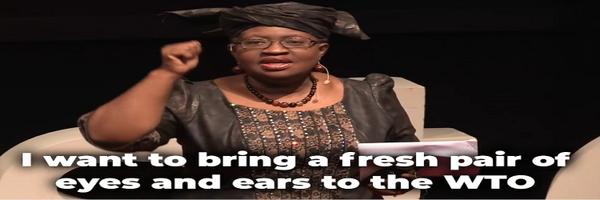 Ngozi Okonjo-Iweala Profile Banner