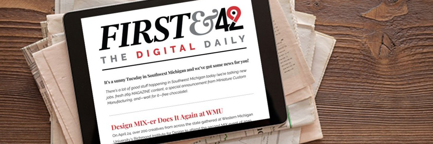 Twice a week, the Digital Daily, First and 42 will keep you updated on regional happenings in parallel 42. Powered by @swmfirst.