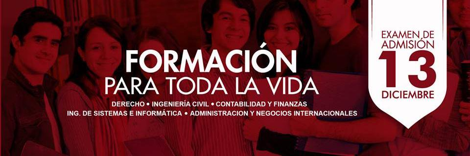 Universidad Privada de Trujillo's official Twitter account