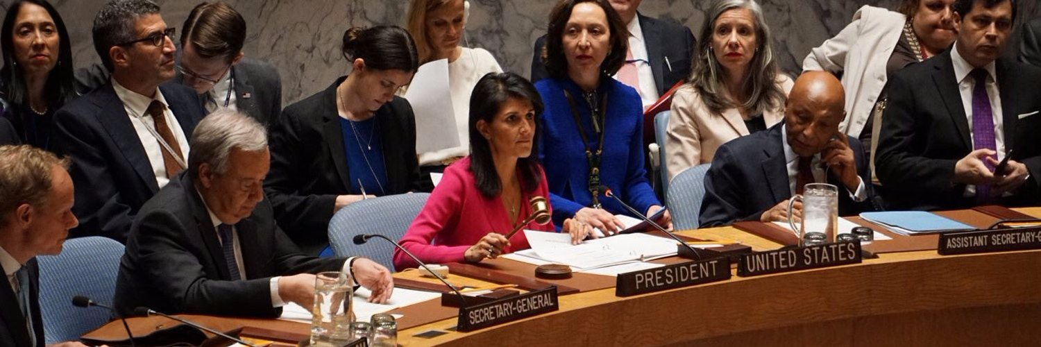 This account has been archived. You can now follow former USUN Ambassador Nikki Haley at @NikkiHaley. For U.S. Mission to the @UN updates, follow @USUN.
