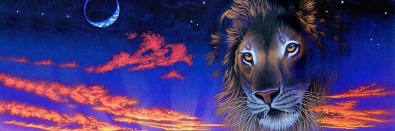 Картинки луна в знаке льва