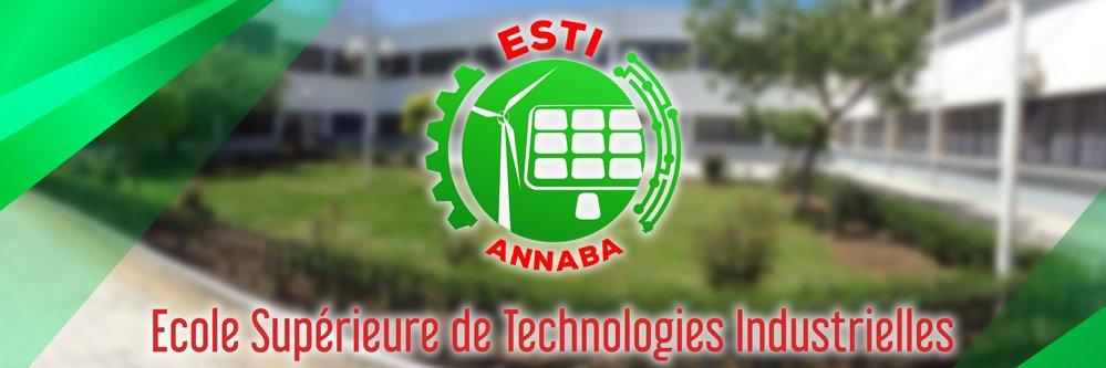 École Supérieure de Technologies Industrielles d'Annaba's official Twitter account