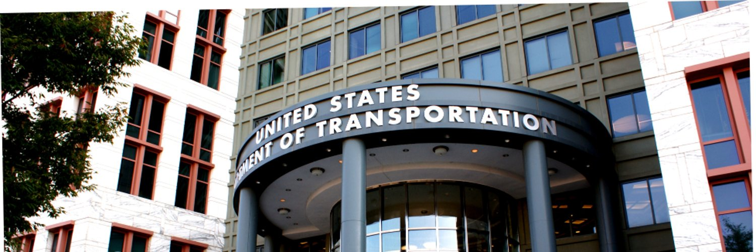 The official Twitter account of the U.S. Department of Transportation.