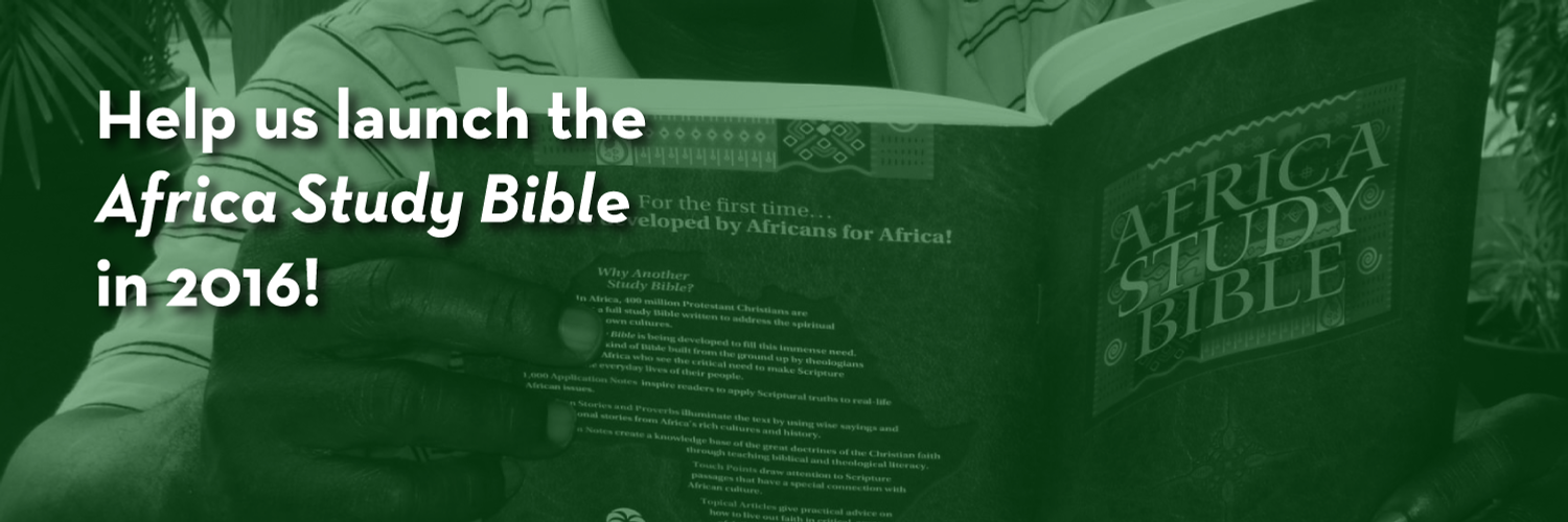 The Africa Study Bible (5 Minutes) - YouTube