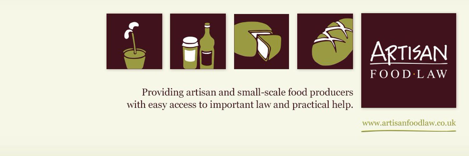 A free legal resource for artisan and small scale food producers and all who are interested - artisanfoodlaw.co.uk. Opinions and rants provided by @pundles