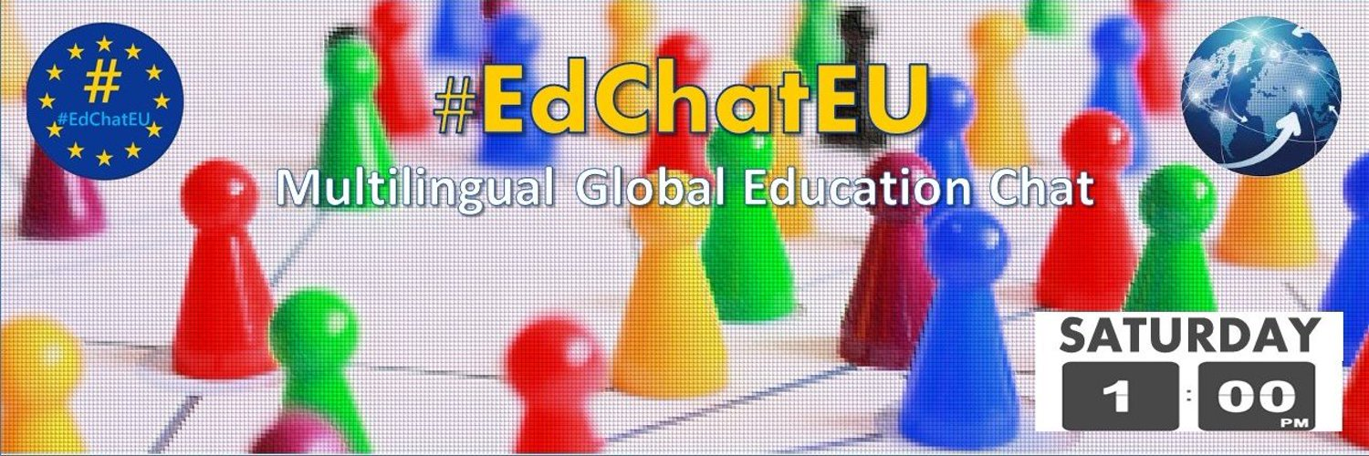 Multilingual Global Education Chat #EdChatEU - 📅Saturdays 🕐13.00 CET Register here: forms.gle/GpCJwQWZ1k4yjK…