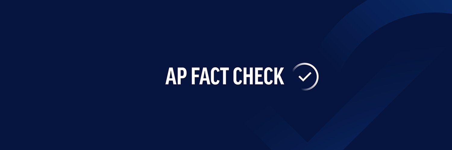 Fact-checking, accountability journalism and misinformation coverage from @AP journalists around the globe. Getting the facts right since 1846. FactCheck@ap.org