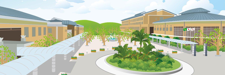 Miyazaki Prefectural Nursing University's official Twitter account