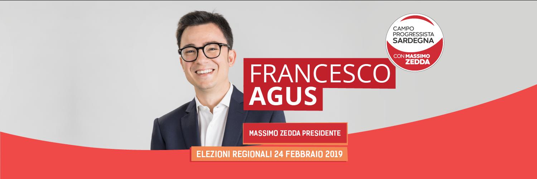 FRANCESCO AGUS Consigliere della Regione Sardegna