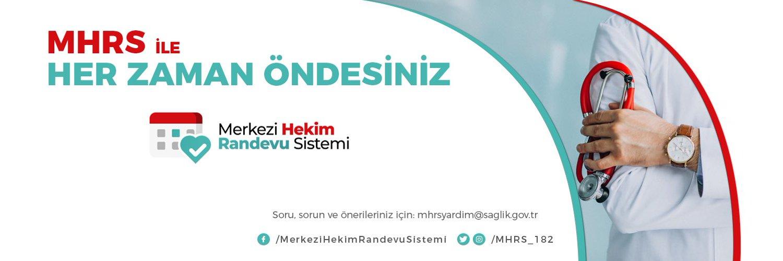 T.C. Sağlık Bakanlığı Merkezi Hekim Randevu Sistemi ( MHRS) resmi Twitter sayfasıdır. Soru, sorun ve önerileriniz için: mhrsyardim@saglik.gov.tr