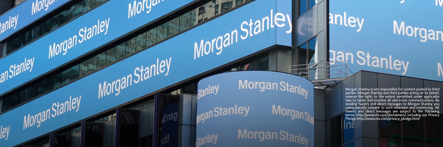 Official Twitter account of Morgan Stanley. We provide a range of investment banking, securities, investment management & wealth management services worldwide.