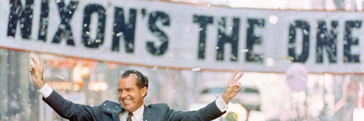 1/2 #Apollo50 #OTD #Nixon50 7/16/1969 President Nixon & @NASA astronaut Col. Frank Borman watched #Apollo11 lift o… https://t.co/tAU5aFj51U