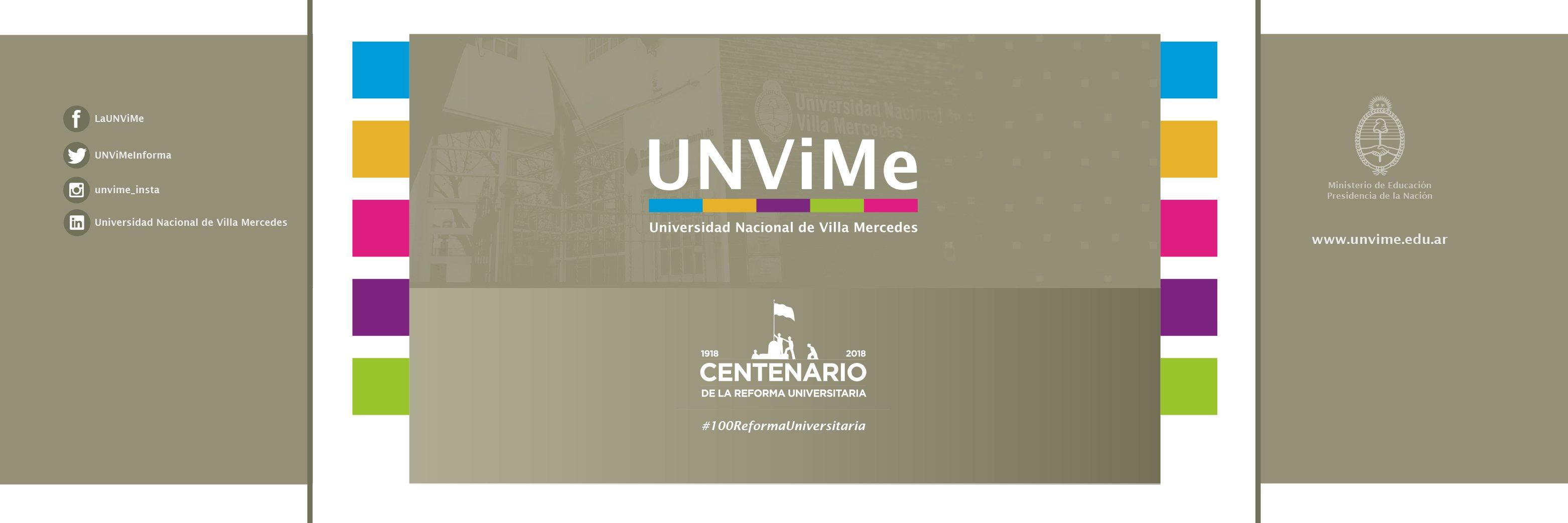Universidad Nacional de Villa Mercedes's official Twitter account