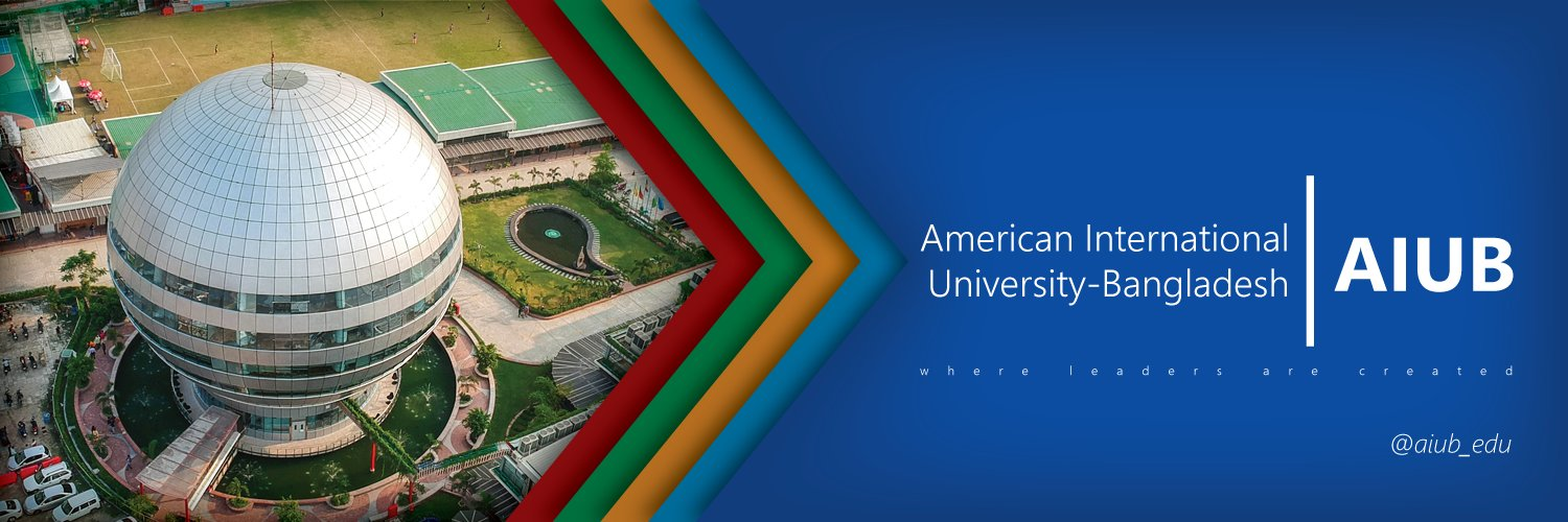 American International University-Bangladesh's official Twitter account