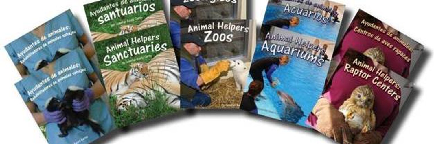 Children's author. Helping animals one book at a time.