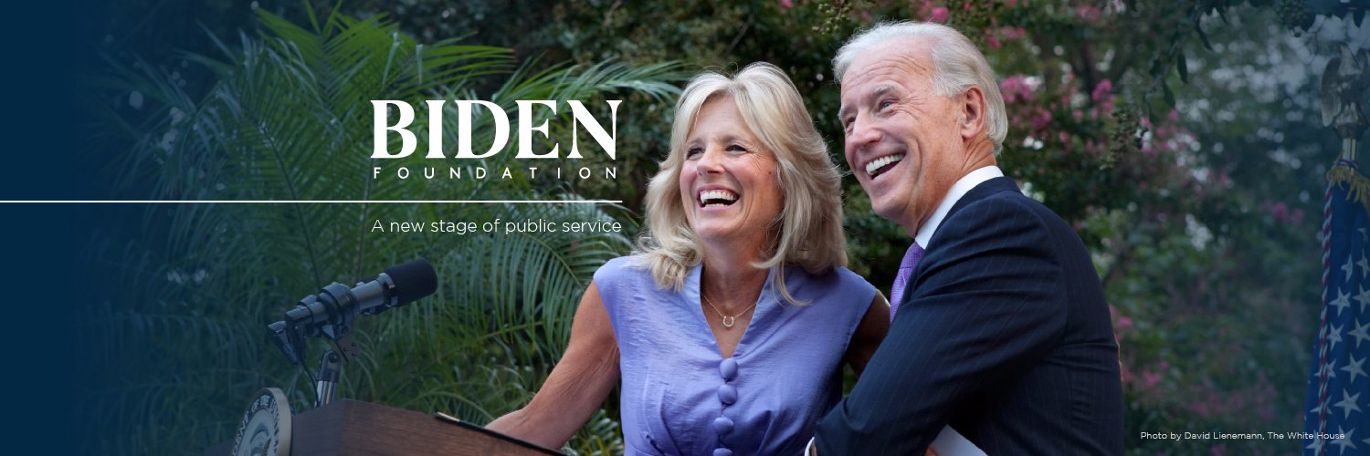 Today the Biden Foundation announced it has suspended operations. We're proud to have worked with all of you to promote dignity, equality, and opportunity for all. Read more: bidenfoundation.org/news/biden-fou…