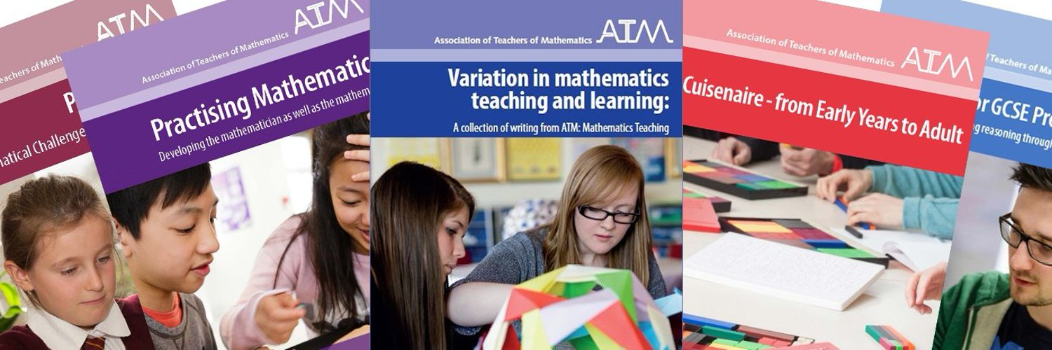 The Association of Teachers of Mathematics (ATM) is independent; supporting educators and parents in providing a rich and stimulating mathematics education.