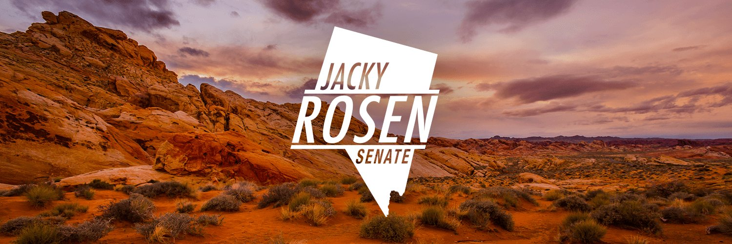 Campaign account for Jacky Rosen. Ready to fight for our families being let down by career politicians.