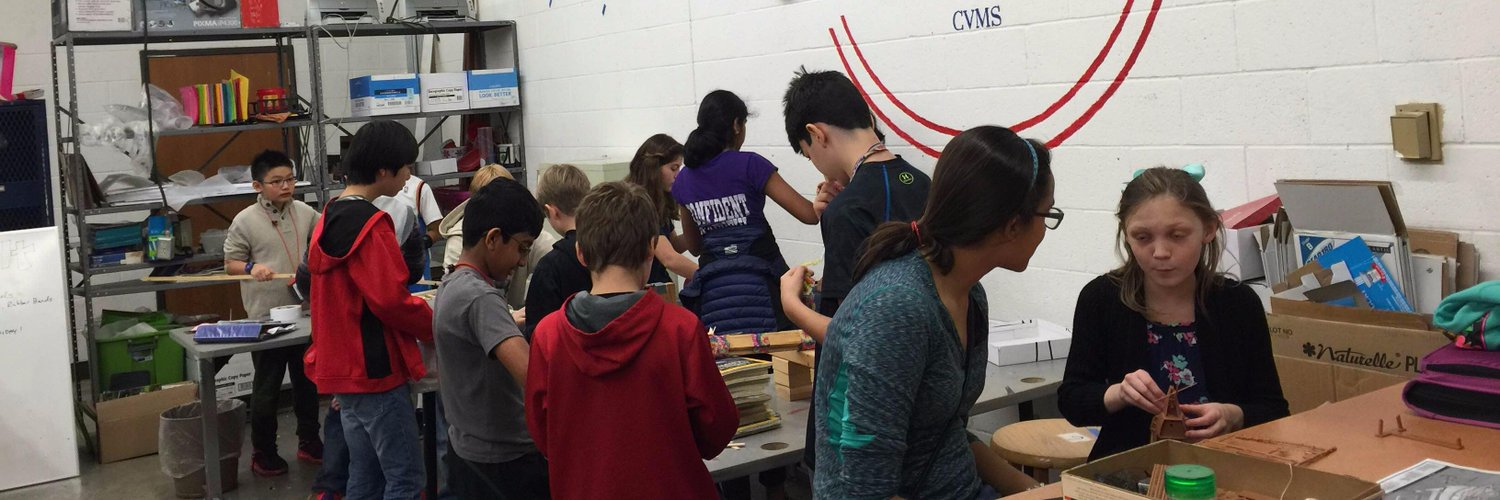 Makerspace at Canyon Vista Middle School in Round Rock ISD #makered #rrisdtech #sharecvms curated by sponsor @mr_wag